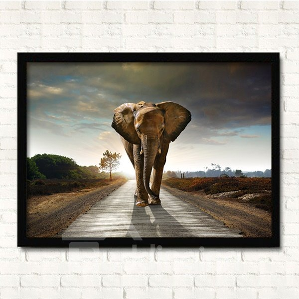 Modern Simple Giant Elephant Prints