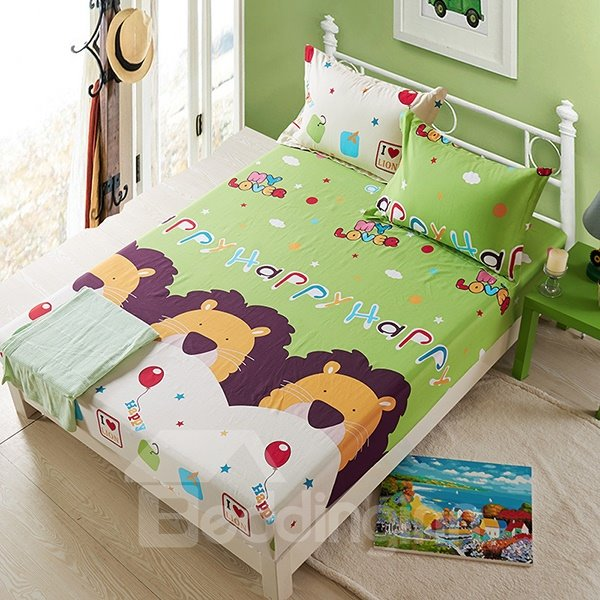 The Fairy Tale Kingdom Cotton Fitted Sheet
