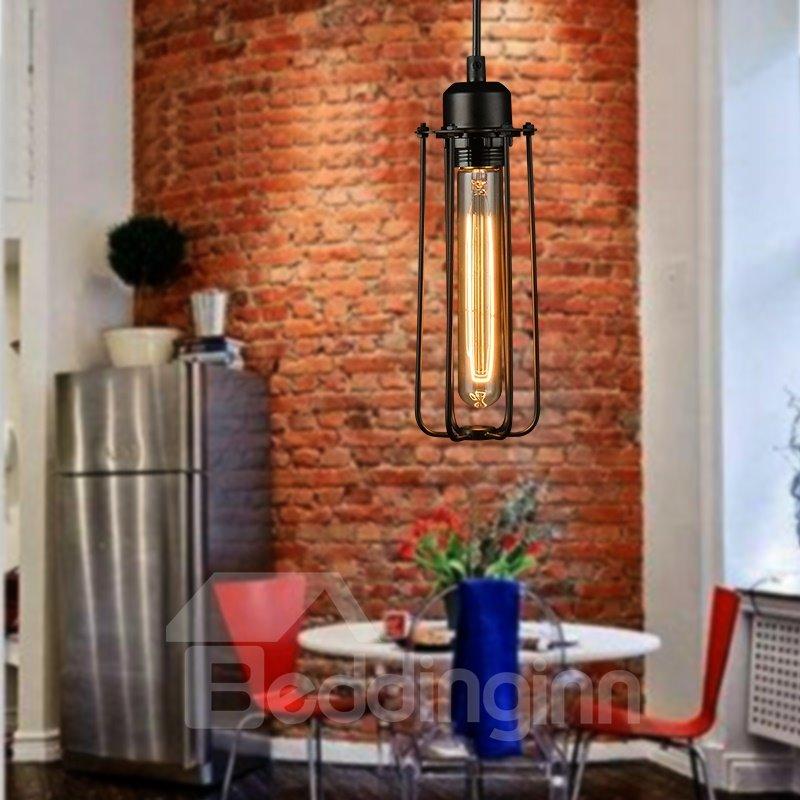American Vintage Edison Flute Pendant Light