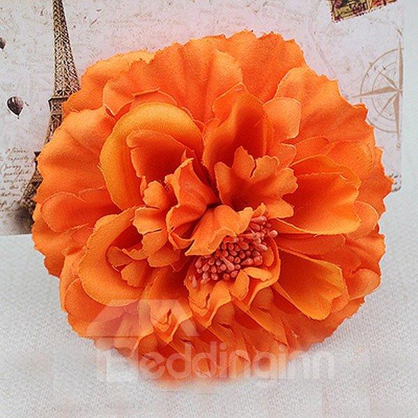 Bohemian Lifelike Hair Flower with Hairpin