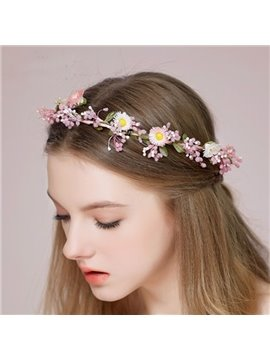 High Quality Handmade Delicate Flower Crown