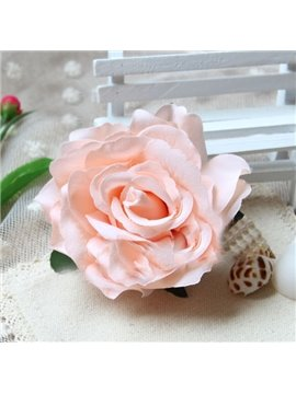 Lifelike Rose Hair Flower with Hairpin