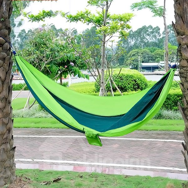 Wear Resistance and Light Single Outdoor Parachute Cloth Hammock