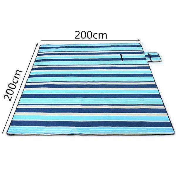 Waterproof and Easy Taking Aluminum Film Beach Mat