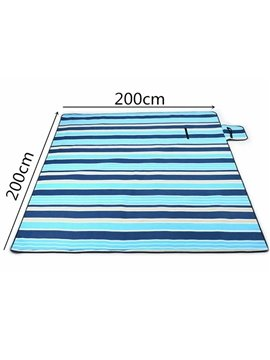 Waterproof and Easy Taking Aluminum Film Beach Mat