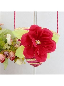 Lovely Useful Small Straw Bag