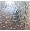 3D Semi-Transparent EVA Material Bathroom Shower Curtain