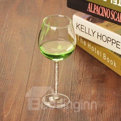 Wonderful Diamond Stem Champagne Glass Round Goblet