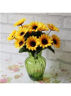 Gorgeous Bright Decorative Sunflower Artificial Flowers