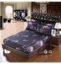 Light Purple Chrysanthemum Flower Print 6-Piece Duvet Cover Sets