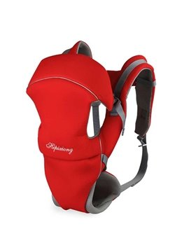 Simple Red Color Four Positions Baby Carrier
