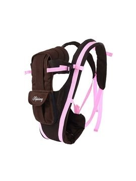 Cozy Pink Strap Four Positions Baby Carrier