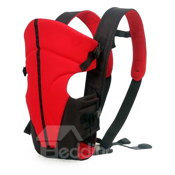 Simple Comfortable Red Baby Hip Seat Front Carrier