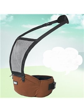 Comfortable Durable Brown Cotton Baby Sling Carrier