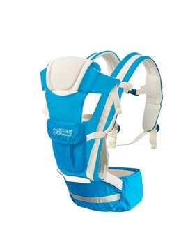 Upgrade Durable  Adjustable Breathe Blue Baby Carriers