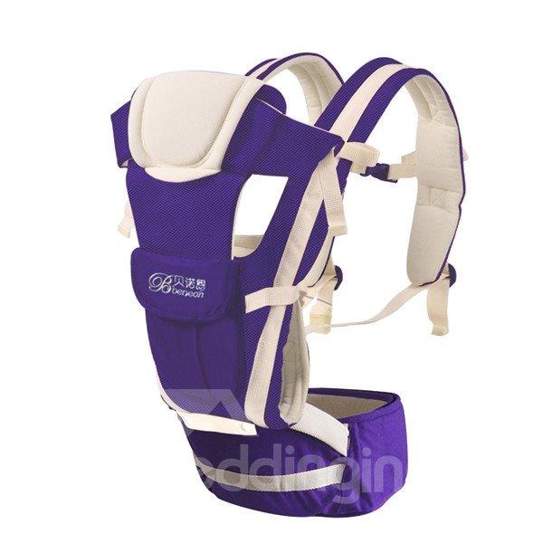 Upgrade Durable  Adjustable Breathe Purple Baby Carriers