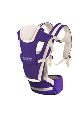 Upgrade Durable  Adjustable Breathe Purple Baby Carriers