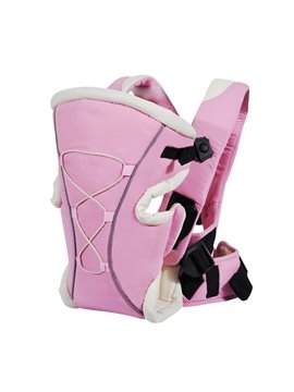 Three Different Carry Positions Lovely Pink Baby Carrier for Infant