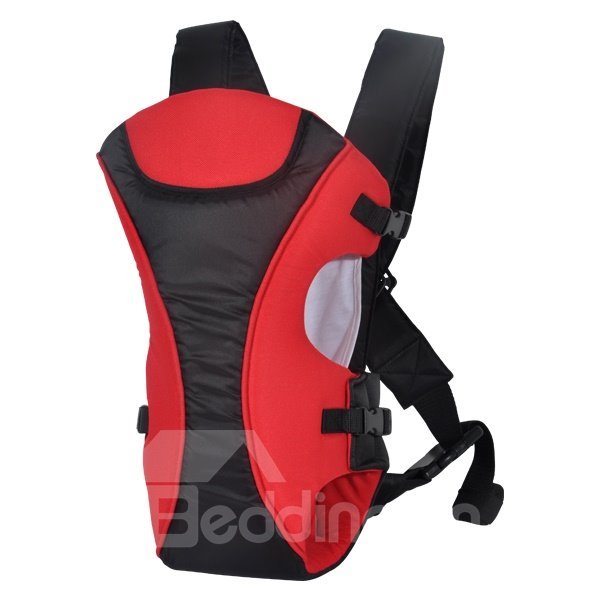 New Style Three Carry Ways Black and Red Baby Carrier