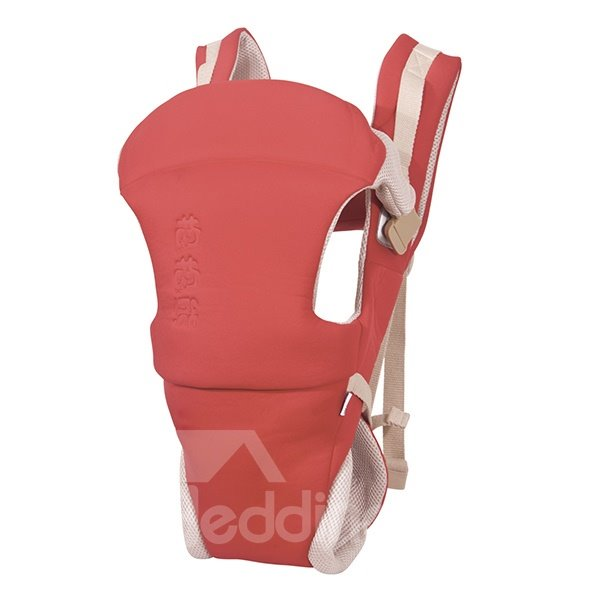 Top Quality Useful Comfortable Four Position Red Baby Carrier