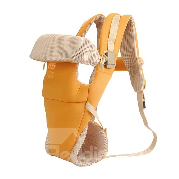 Top Quality Useful Comfortable Four Positions Orange Baby Carrier