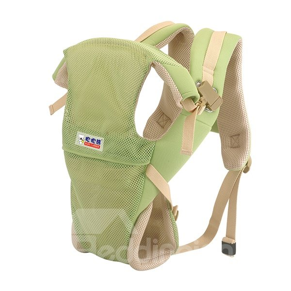 High Quality Useful Comfortable Four Positions Green Baby Carrier