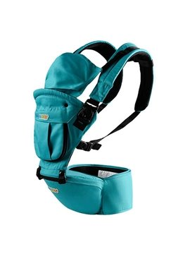Multi-function Solid Blue Color Baby Hip Seat Carrier