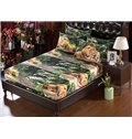 Cool 3D Relaxing Lions Pattern 5-Piece Comforter Sets