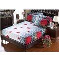 Magnificent Brilliant Rose Cow Grain 5-Piece Comforter Sets