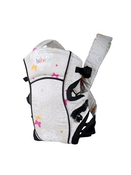 Storage Pocket Attachable Multi Position Butterfly Pattern Baby Carriers
