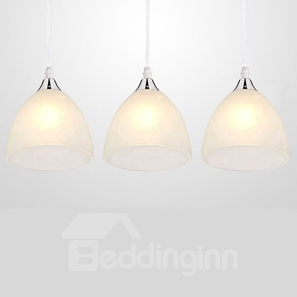 Modern Simple LED 3-Head Pendant Lights