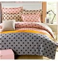 Gorgeous Fresh Stars Pattern 4-Piece Bedding Sets