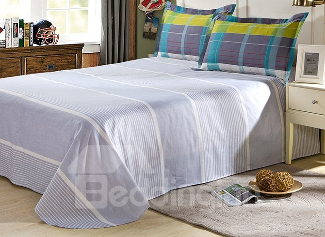 100% Cotton Well Designed Lattice Duvet Cover Sets