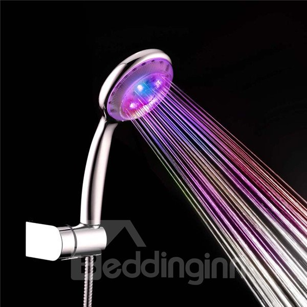 Amazing Water Powered Color Changing LED Hand Shower Head