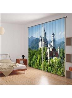 Beautiful Scenery Energy Saving 3D Curtain