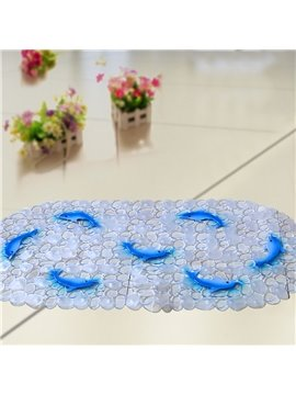 Unique Pretty Blue Dolphin Print Bath Mats