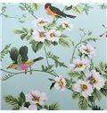 American  Pastoral Style Floral Birds Print 4-Piece Duvet Cover Sets