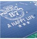 Classic Plaid Bright Stars 100% Cotton 4-Piece Duvet Cover Sets