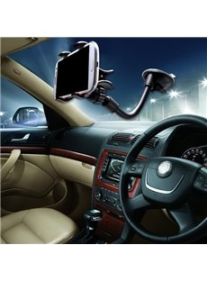 Distinctive Snake Shape Designed And Super Practical ABS Aluminum Tube Material Mixing Car Phone Holder