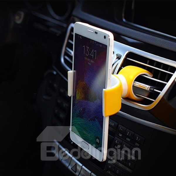 Light and Simple Mini Colorful Circular Car Phone Holder