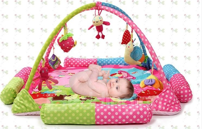 Super Large Stents Music Game Pad Baby Crawling Playmate for 1-24 Mouths