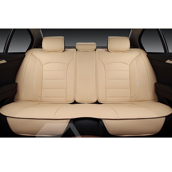 Luxurious And Classic Colored Design Leatherette Universal Car Seat Covers