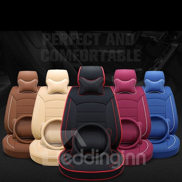 Luxurious And Classic Colored Design Leatherette Universal