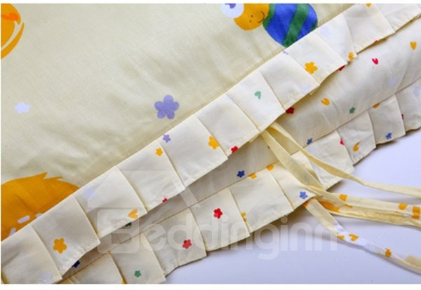 Super Cute Flowers and Bee 10-Piece Crib Bedding Sets