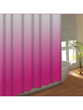 Wonderful Gradient Ramp Dacron Waterproof Shower Curtain