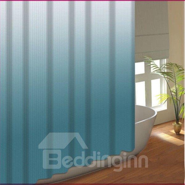 Wonderful Gradient Ramp Dacron Waterproof Shower Curtain
