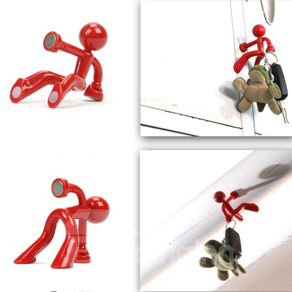 Creative and Simple Pattern Pratical The Magnetic Man Key Holder