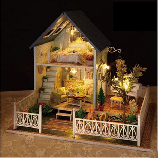 Original Special and European Style Amazing DIY Handmade House