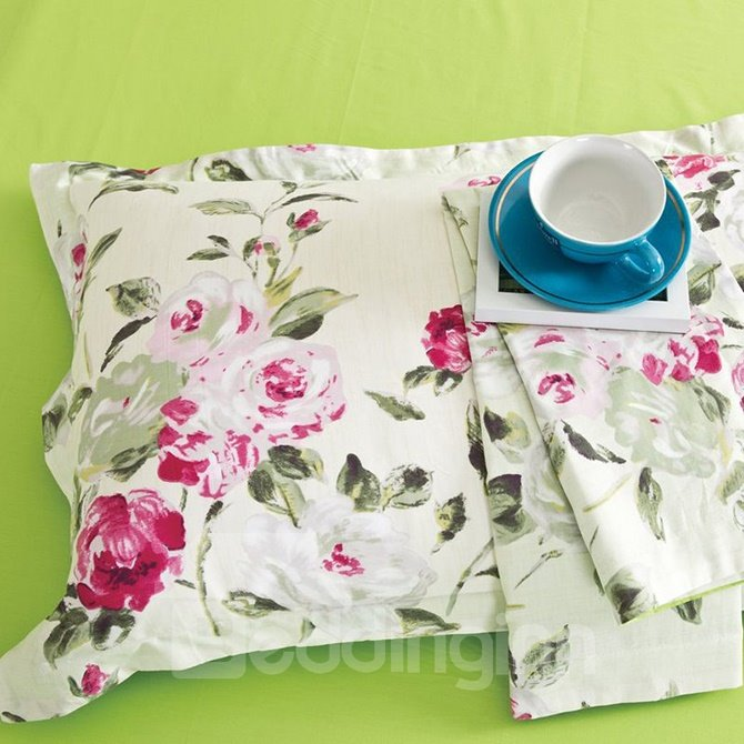 Pastoral Fresh Small Flowers 4-Piece Duvet Cover Sets