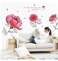 Romantic Gorgeous Roses and Words Removeable Wall Sticker